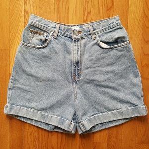 Vintage High Waist Calvin Klein Jeans Shorts 28